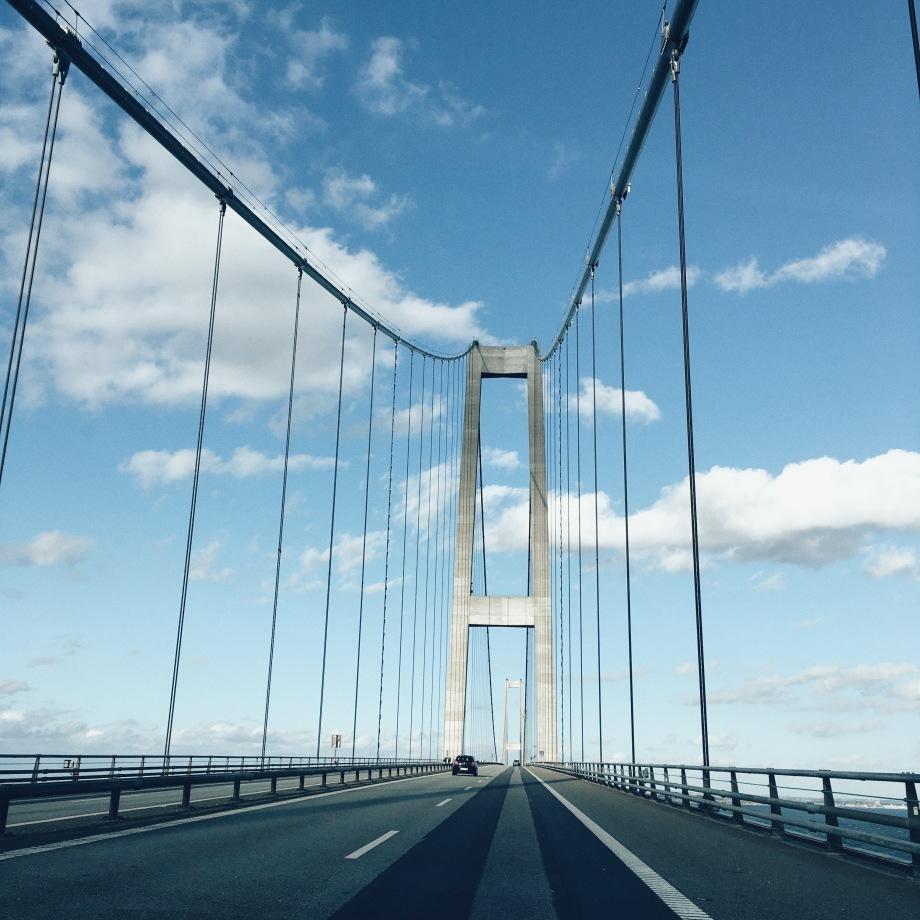 Storebælt Bridge Denmark