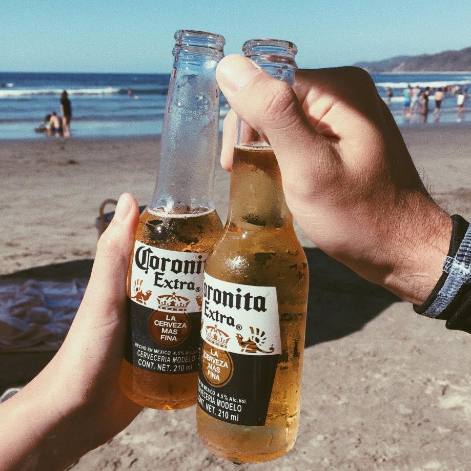 Corona - Sayulita Beach Mexico