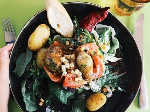 Summer Salad in Lille - France