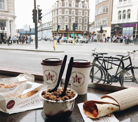 Pret - Organic Coffee