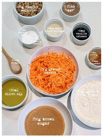 Vegan Gluten Free Carrot Cake